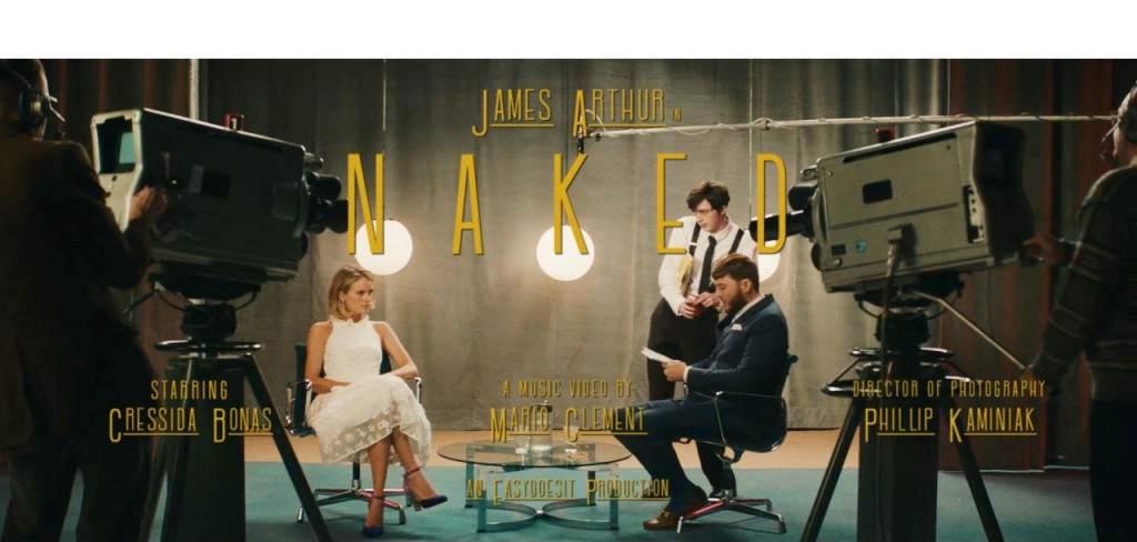 JAMES ARTHUR –  Musicvideo (DC)